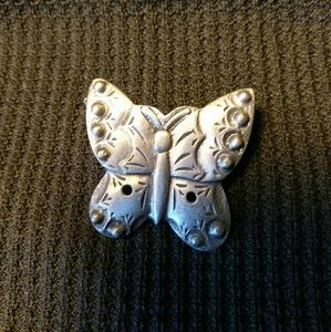 Jewelry - Pewter Butterfly Pin